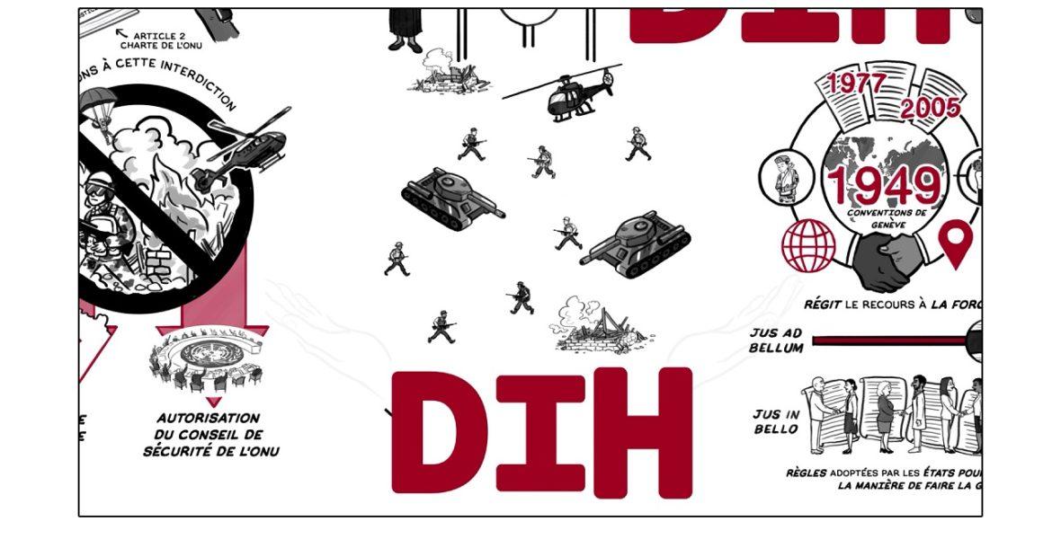 Tous concernés : 4 animations sur les fondamentaux du droit international humanitaire