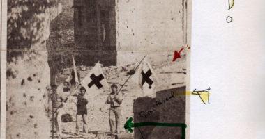Dans les archives du blog… Le CICR évacue les blessés du camp de Tell Zaatar, guerre du Liban, 1976