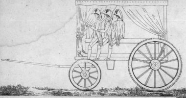 1799 : invention des évacuations sanitaires médicalisées
