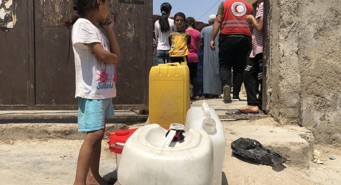 Syrie : 40% d'eau potable en moins en dix ans