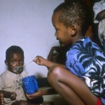 Kigali, June 1994. Thousands of orphans were taken in by the ICRC
