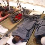 Rwanda wounded