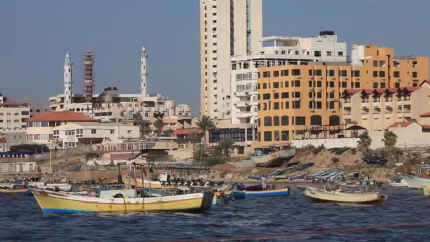 Life in Gaza: Fishermen (video)