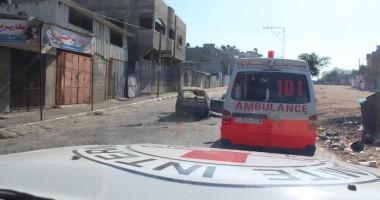 עזה: הסכנות העומדות בפני העובדים ההומניטריים בחזית