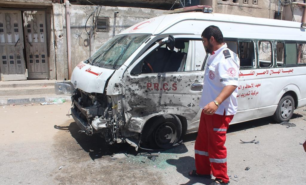 Gaza: ICRC condemns the killing of a Red Crescent Volunteer