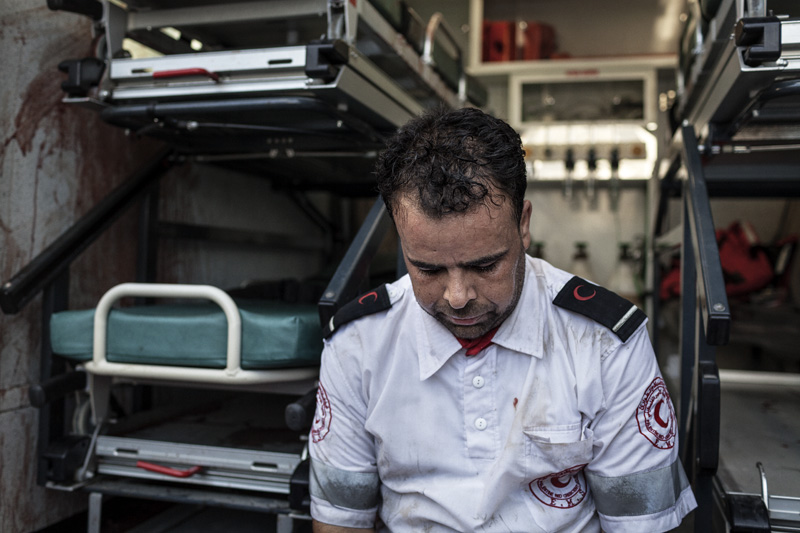 Gaza: ICRC appalled by damage to premises and property of Palestinian Red Crescent
