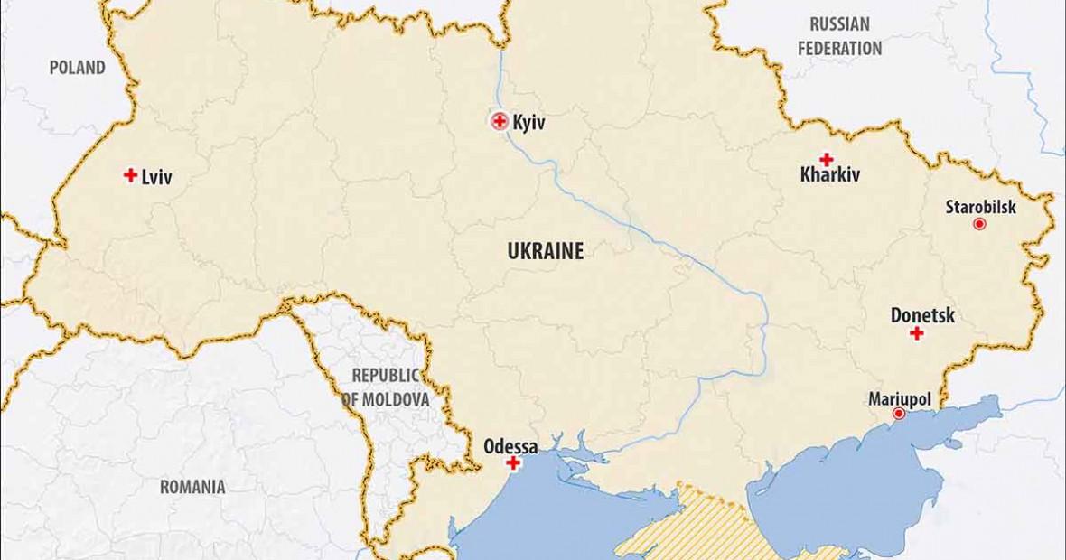 אוקראינה: אוכלוסיית לוהנסק במצוקה קשה