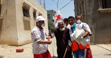 Photo Gallery: ICRC steps up its humanitarian efforts to help during the Israel-Gaza conflict