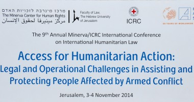 The 9th Annual Minerva/ICRC Conference on International Humanitarian Law