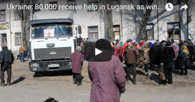 Ukraine: 80,000 receive help in Lugansk as winter approaches