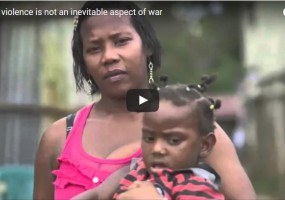 Sexual violence is not an inevitable aspect of war