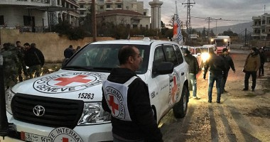 Syria: key operation begins to bring aid to people in besieged areas