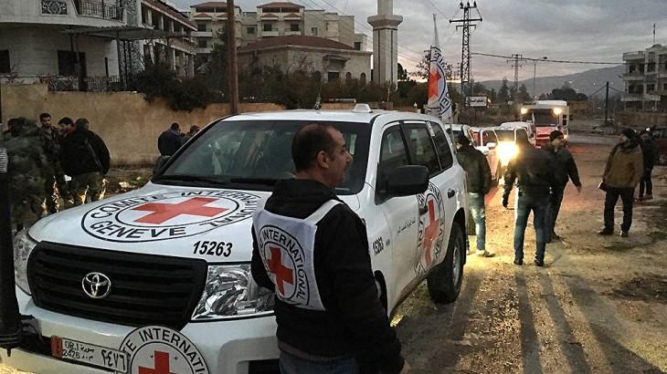 סוריה: החל מבצע מפתח לאספקת סיוע לאוכלוסייה באזורים נצורים