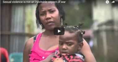 אלימות מינית אינה היבט בלתי נמנע של מלחמה
