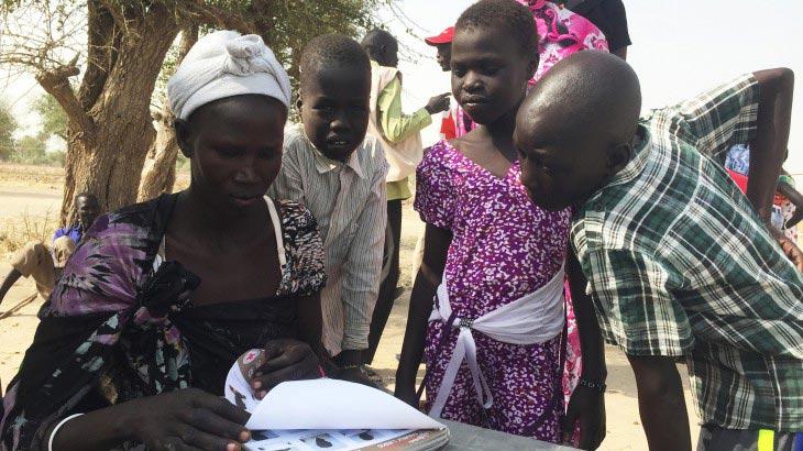 קמפיין מקוון לאיתור משפחות דרום-סודאניות