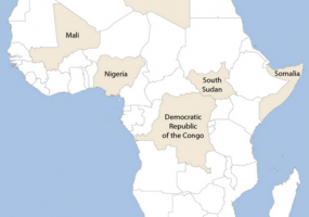 The ICRC in Africa – key operations