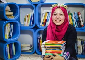 Portraits of women of Gaza