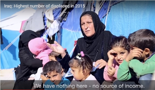 Iraq displaced 2015