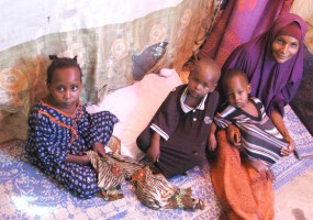 Somalia: Fatuma's family escapes hunger