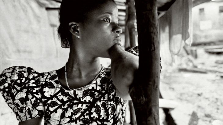 Photo: Mariatu, one of the 11 women featured in the exhibition. © Nick Danziger
