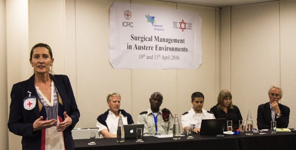 Surgical management in austere environments: A seminar of ICRC, Ministry of Health and MDA