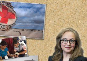 """""""Even war has limits"""" – a bar talk with Dr. Helen Durham"""