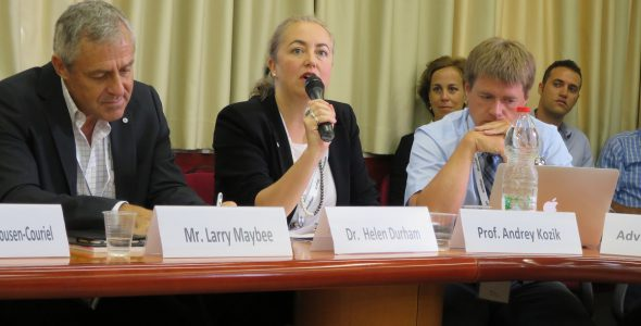 Cyberweek 2016: Round Table on Intersection of IHL and Cyberspace