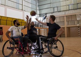 Basketball Wheelchair Project in the Gaza Strip – A shot that is worth more than three points