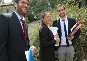 The Hebrew University won the 10th National Competition on International Humanitarian Law