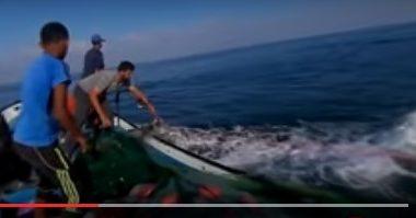 עזה: דייגים נאבקים לפרנסתם (וידאו 360 מעלות)