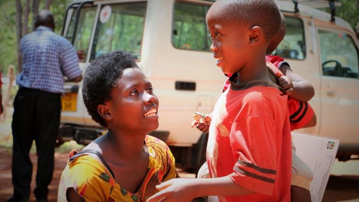 טנזניה: משפחה מבורונדי זוכה להתאחד לאחר דרך ארוכה