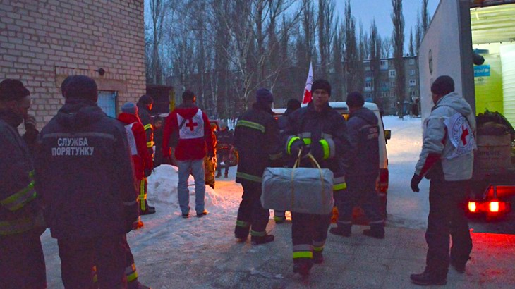 ICRC warns of deteriorating humanitarian situation amid intensifying hostilities in eastern Ukraine