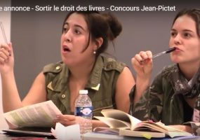 Jean-Pictet Competition: Taking the law out of the books