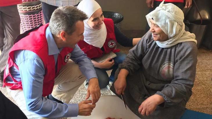 הצהרת נשיא ה-ICRC פטר מאורר בנושא ביקורו בסוריה