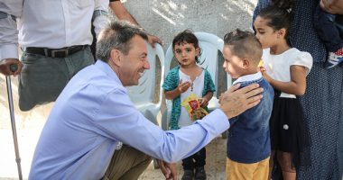 Photo Gallery: ICRC President Peter Maurer's visit