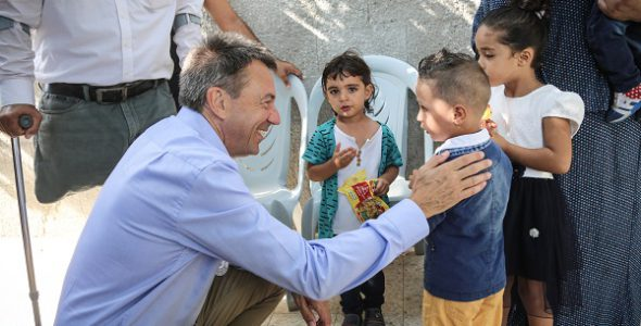 נשיא הוועד הבינלאומי של הצלב האדום פטר מאורר ביקר בישראל ובשטחים הכבושים