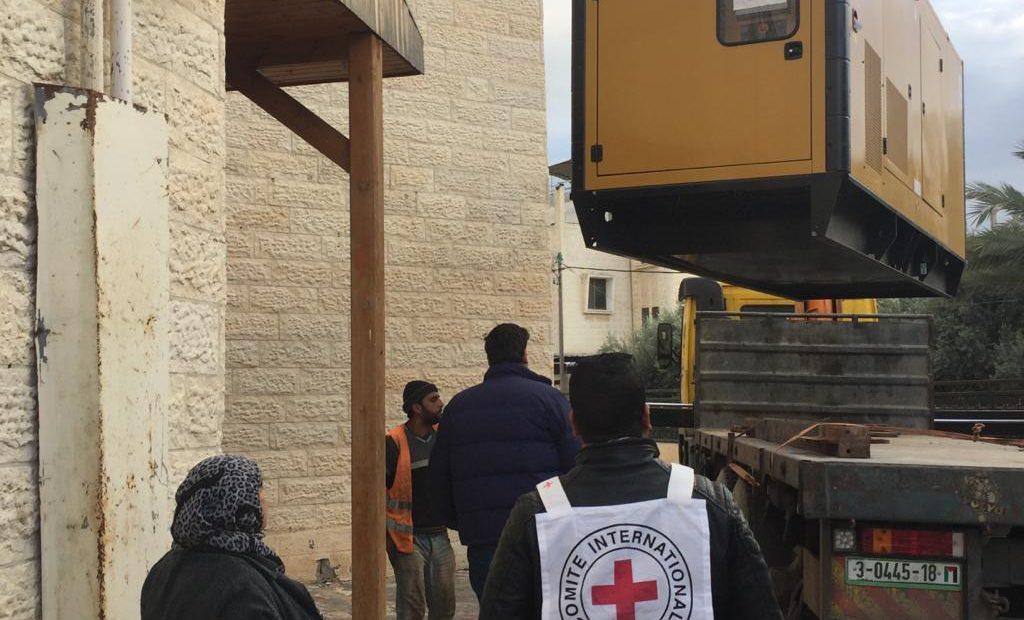 Donation of generators for Gaza clinics and hospitals