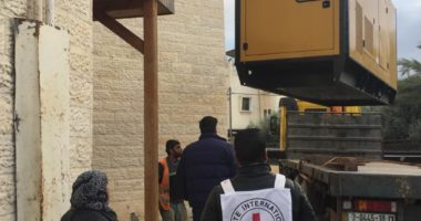 Donation of generators for Gaza clinics and hospitals