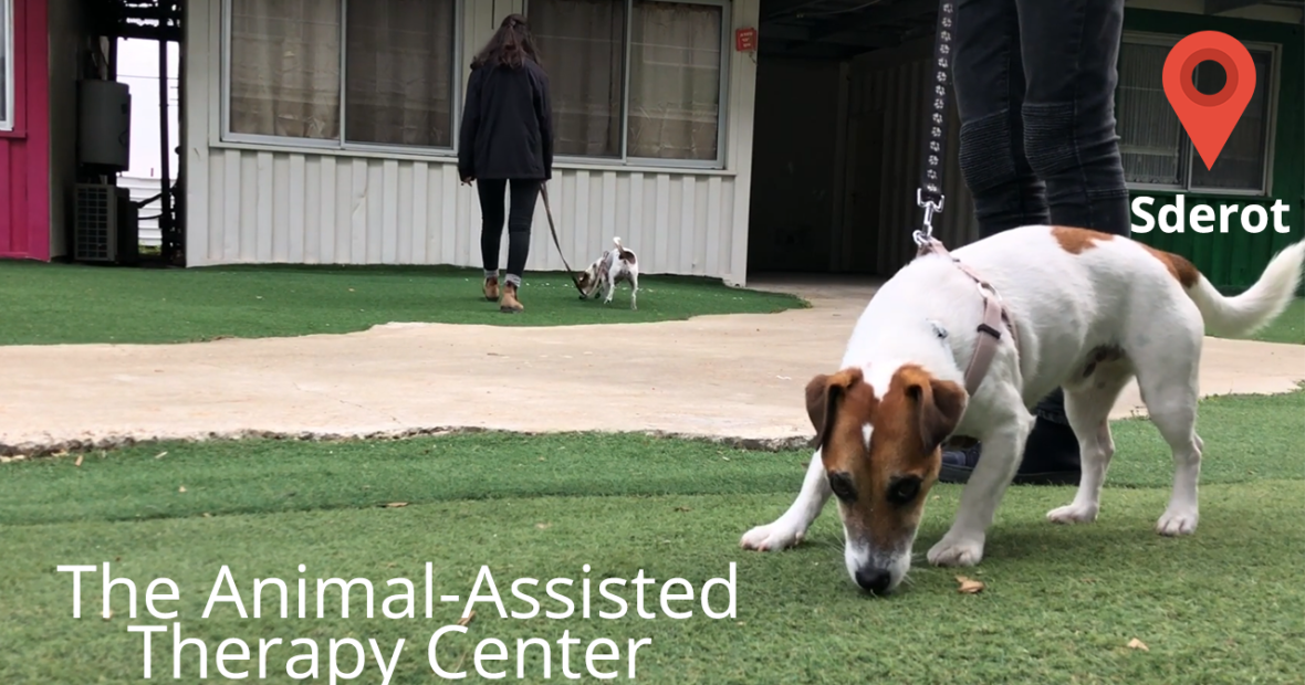 The Animal-Assisted  Therapy Center in Sderot