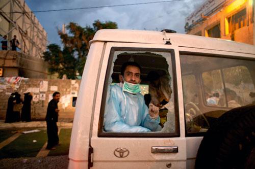 Suriah: Tiga Relawan Bulan Sabit Merah Terluka