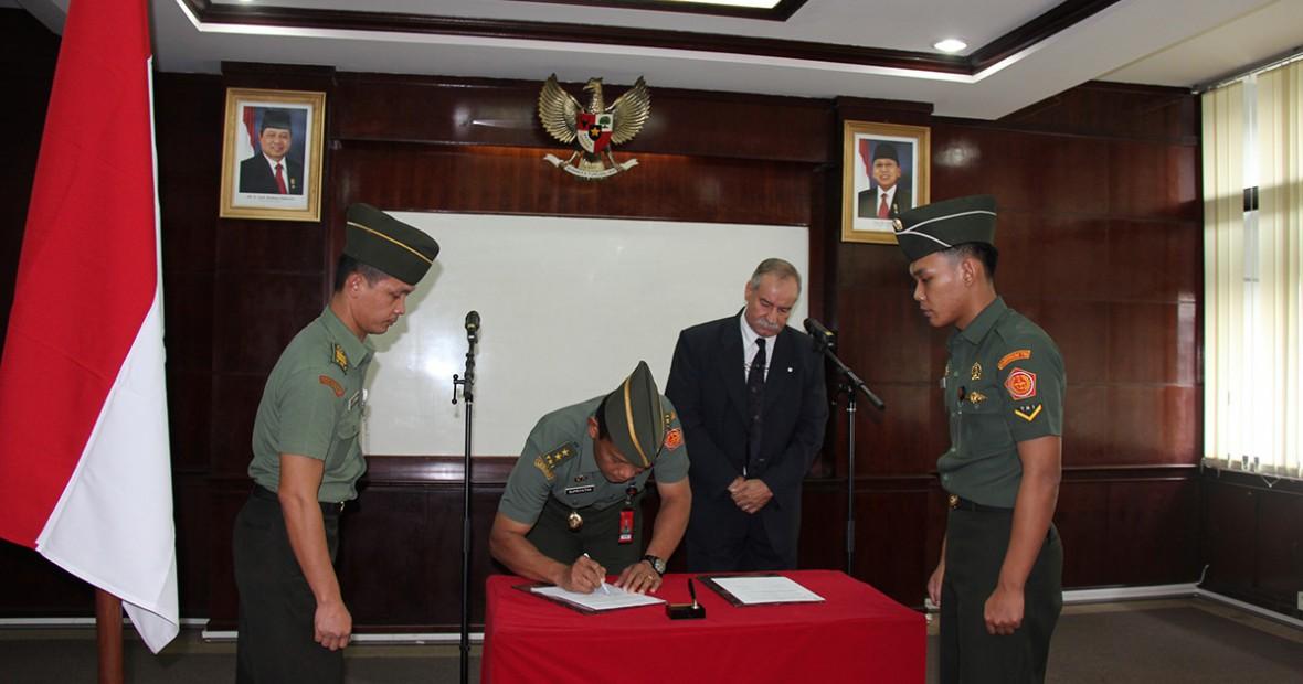 Babinkum TNI dan ICRC Formalkan Kerjasama