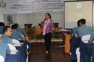 Batam: Membedah Konvensi Anti Penyiksaan Bersama Perwira TNI-AL