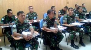 18 Perwira MCOU TNI Ikuti Pembekalan HHI