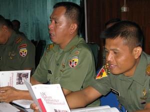 Kupang (ICRC): Pasukan Pengamanan Perbatasan (Pamtas) Indonesia – Timor Leste Ikuti Pembekalan Hukum Humaniter & HAM