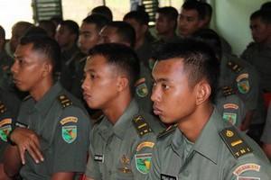Pembekalan Hukum Humaniter Internasional dan Hukum HAM bagi Pasukan Pengamanan Perbatasan Jayapura