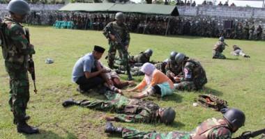 Hukum Humaniter Internasional dan Hukum HAM dalam Perang Disimulasikan di Tasikmalaya