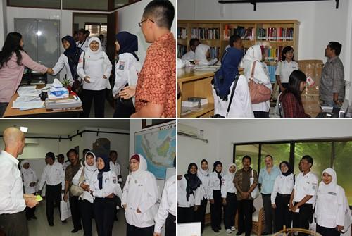 Kunjungan Forum Komunikasi Pembinaan PMR PMI Kota Jakarta Pusat