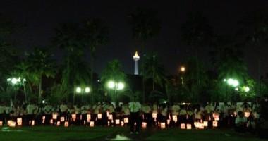 Parade Lampion Palang Merah Sebagai Peringatan Hari Palang Merah dan Bulan Sabit Merah Dunia
