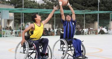 Turnamen Bola Basket Pengguna Kursi Roda Nasional Pertama di Afghanistan