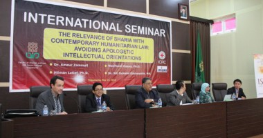 "Seminar Internasional ""The Relevance of Sharia with Contemporary Humanitarian Law"""